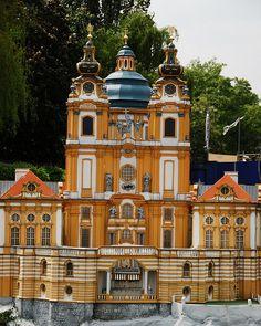 The abbey in Melk Austria on the Danube!