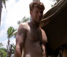 "Jacob Pitts as PFC Bill ""Hoosier"" Smith in HBO's The Pacific. Favorite line, ""How fucked are you now? Guadalcanal."""
