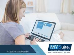 COMPROBANTE FISCAL DIGITAL. En MYSuite, contamos con una plataforma amigable y muy fácil de usar desde cualquier computadora o dispositivo con acceso a internet, a través de la cual podrá generar sus CFDI. Además, le ofrecemos planes a la medida y garantizamos rapidez, seguridad, confidencialidad y resguardo de su información. Le invitamos a visitar nuestra página en internet http://www.mysuitemex.com/, para conocer todos nuestros servicios y elegir el que más le convenga. #facturación