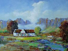 oil on stretched canvas but can be x in Beautiful Paintings, Homesteading, Photo S, South Africa, Workshop, Canvas, Artist, Prints, Decor