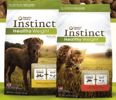 FREE Sample of Instinct Healthy Weight Kibble Pet Food