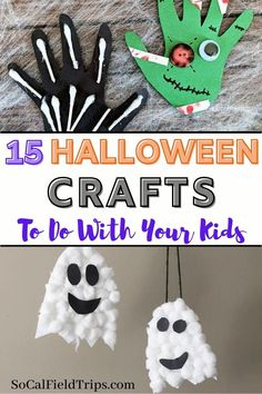 Check out this list of 15 Spooky Halloween Crafts For Kids for some fresh ideas and inspiration to celebrate the goolish holiday! They are perfect for toddlers, preschoolers and even elementary school age children. #halloween #fall #craft #diy #halloweencraft #fallcraft #kidscraft #preschoolscraft Spooky Halloween Crafts, Halloween Crafts For Toddlers, Fall Crafts For Kids, Toddler Crafts, Holiday Crafts, Kids Crafts, Halloween Nails, Halloween Kids Decorations, Halloween Paper Plate Crafts For Kids