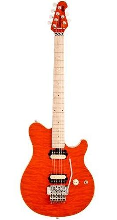 A new MUST have! Ernie Ball Music ... check it out @ http://guitarisms.com/products/ernie-ball-music-man-axis-floyd-rose-electric-guitar-trans-orange?utm_campaign=social_autopilot&utm_source=pin&utm_medium=pin
