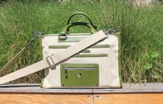 """Knomo laptop bag. Fits my 13"""" macair perfectly."""