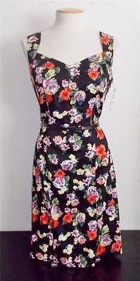 XOXO CLOTHING SZ JUNIORS 13/14 BLACK AND FLORAL PRINT BELTED WAIST FASHION DRESS   eBay