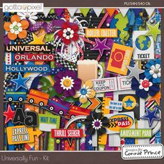 Universally Fun - Kit :: Gotta Pixel Digital Scrapbook Store from Designs by Connie Prince