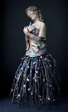 Sculpture Susan Saladino – Last Bird – 2012