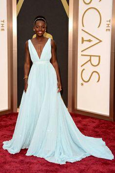 Lupita Nyong'o. #Prada #Oscar2014