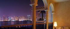 The city of Dubai is beckoning... Views from The Palm One
