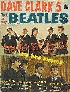 Dave Clark 5 vs. The Beatles