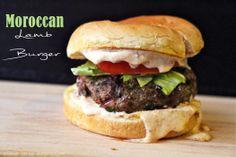 Morrocan Lamb Burger // www.cupcakesncurries.wordpress.com //