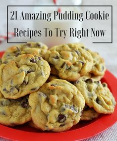 Want to take your cookie recipes to the next level? Just add pudding! Here are 21 amazing pudding cookies to try right now!