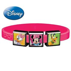 Roxo Disney Classics 2 3-Charm Set with Small Party Pink Band >>> For more information, visit image link.