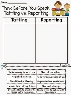 How to Tackle Tattling in the Classroom