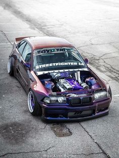 #BMW_E36_M3 #WideBody #Modified