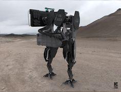 Modular Bipedal Tank / 憲兵用模塊化載具 on Behance