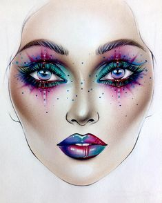 "2,276 Likes, 16 Comments - Sergey X (@milk1422) on Instagram: ""#artist@milk1412 ✨ #mylove #myart #myartistcommunity #myartistcommunityrussia #makeup #makeupart…"""