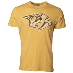 47 Brand Men s Nashville Predators Grit Scrum Short Sleeve T-Shirt  Predators Hockey 962a739b4