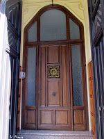 Casa Santiago Domènech y Montserrat Planas - Barcelona Modernista