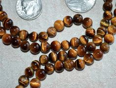 108 Tiger Eye 8mm Beads Prayer Japa Mala Karma Necklace for Nirvana Meditation | eBay