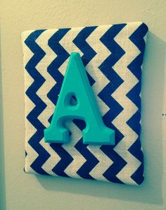 Wall Canvas Letters Nursery Decor Bedroom by CraftyHomeCreations, $11.25