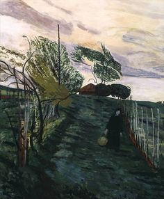 Carel Weight (UK 1908‑1997)  Sienese Landscape (1963) oil on canvas