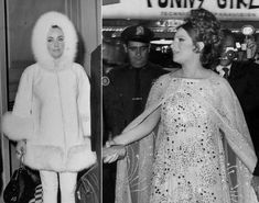 When in New York City in 1968, both Liz Taylor and Barbra Streisand were sure to show off their eclectic styles.