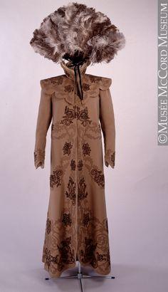 * Manteau de soirée 1900-1910
