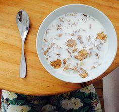 Desayuno Cereales Fitness  Sabrosooo!!