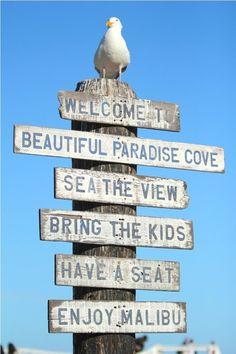 welcome to Malibu <3