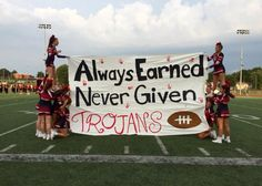 Ideas For Basket Ball Signs High School Football Spirit Signs, Football Banner, Football Cheer, Football Quotes, School Football, Football Posters, Football Season, School Spirit Posters, High School Posters