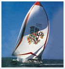 After 30 years of sailing and raising a huge amount of money for charity, Drum's sailing days are now over. Sailing Day, Fabulous Four, Simon Le Bon, Drum, Surfboard, Identity, Racing, Boat, Graphics