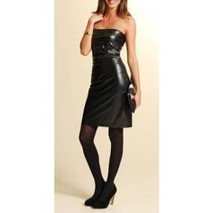Browse our latest collection of on-trend #leather dresses in many coveted #styles