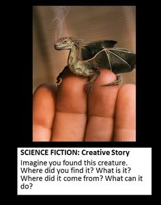 Science fiction creative writing
