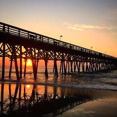 2nd Ave Pier | Myrtle Beach | South Carolina | Photo via Instagram by michaeldavidson_