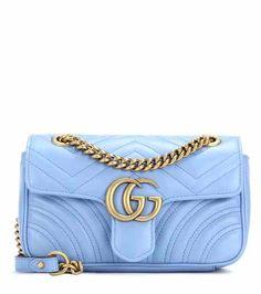 GG Marmont Mini matelassé leather shoulder bag   Gucci