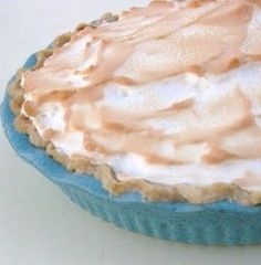 Cooking with K-Southern Kitchen Happenings: Homemade Butterscotch Pie + the secret to keeping the meringue from shrinking when baked! Coconut Meringue Pie, Just Desserts, Delicious Desserts, Yummy Food, Pie Recipes, Dessert Recipes, Dessert Ideas, Recipies, Butterscotch Pie
