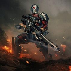 Deadshot from Infinite Crisis Batgirl, Catwoman, Gambit Marvel, Marvel Vs, Marvel Dc Comics, Harley Quinn, Comic Villains, Dc Comics Characters, Dc Heroes