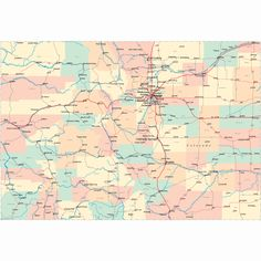 50 Best State Maps images | Highway map, Road maps, State map