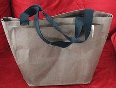 Einkaufstasche aus SnapPap   DIY   Schnittmuster gratis