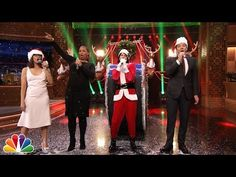 The Tonight Show Starring Jimmy Fallon: Jimmy Fallon & Rashida Jones Sing Holiday Parodies of Taylor Swift, Rihanna, Drake