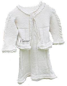 Fleur kjole og jakke str 3 til 4 år - Chris-Ho.com Barn, Sweaters, Design, Fashion, Moda, Converted Barn, Fashion Styles, Sweater, Pullover