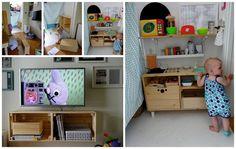 RecyDrops: Nová a větší kuchyně... Nova, Entryway, Hands, Crafty, Bed, Furniture, Home Decor, Entrance, Homemade Home Decor