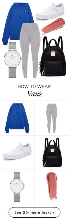 """""""."""" by muahdani on Polyvore featuring Vetements, Vans, Fiorelli and Daniel Wellington #polyvoreoutfits"""