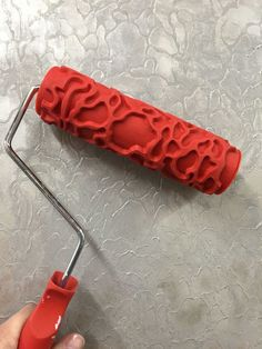 Here is a fabulous tool for creating pattern and design in your decorative finishes!  For additional information on working with the rollers, please check out m…