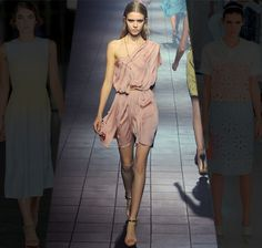 Lanvin has always created a beautiful woman for me - the flow, blush tones and edgy cut.