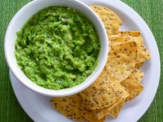 The key to a healthier, protein-packed guac: peas!