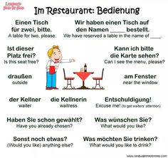 #Englisch_Vokabeln fürs Restaurant! #Englisch #Englisch_lernen #Englisch_Vokabeln_lernen