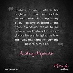 Audrey Hepburn quote http://www.casademar.com