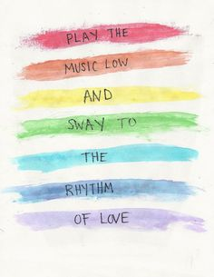 the perfect combination of happy and sad which makes it the perfect rainy day song. rhythm of love- plain white t's